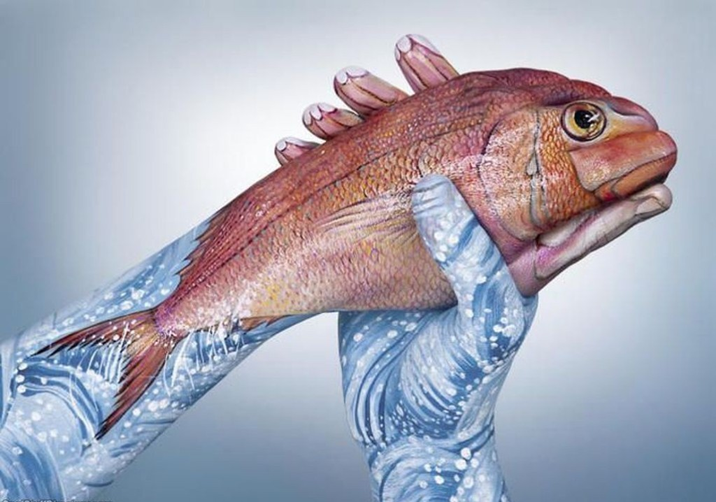 3D-Body-Paintings-7 58 Most Marvelous 3D Body Paintings