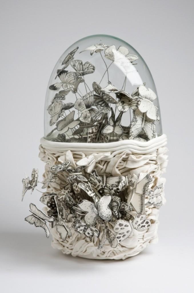 3D-Ceramic-Artworks-that-Look-Like-Pen-Drawings-12 46 3D Ceramic Artworks that Look Like Pen Drawings!