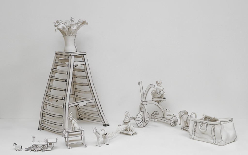 3D-Ceramic-Artworks-that-Look-Like-Pen-Drawings-31 46 3D Ceramic Artworks that Look Like Pen Drawings!
