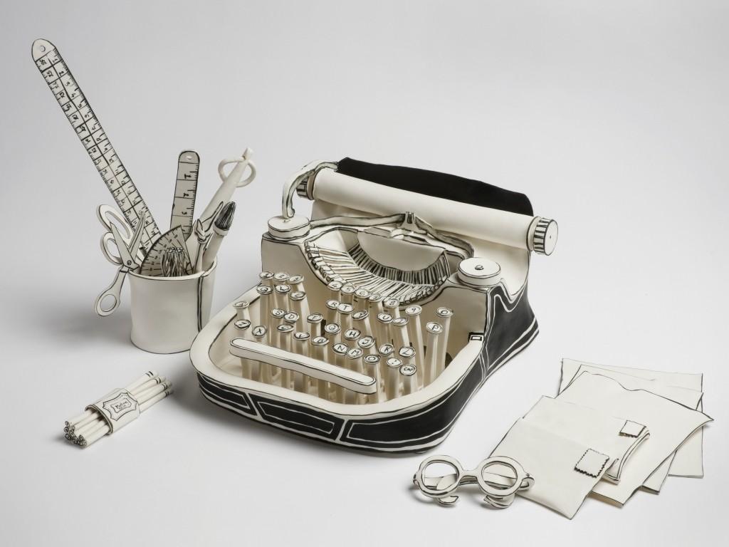 3D-Ceramic-Artworks-that-Look-Like-Pen-Drawings 46 3D Ceramic Artworks that Look Like Pen Drawings!