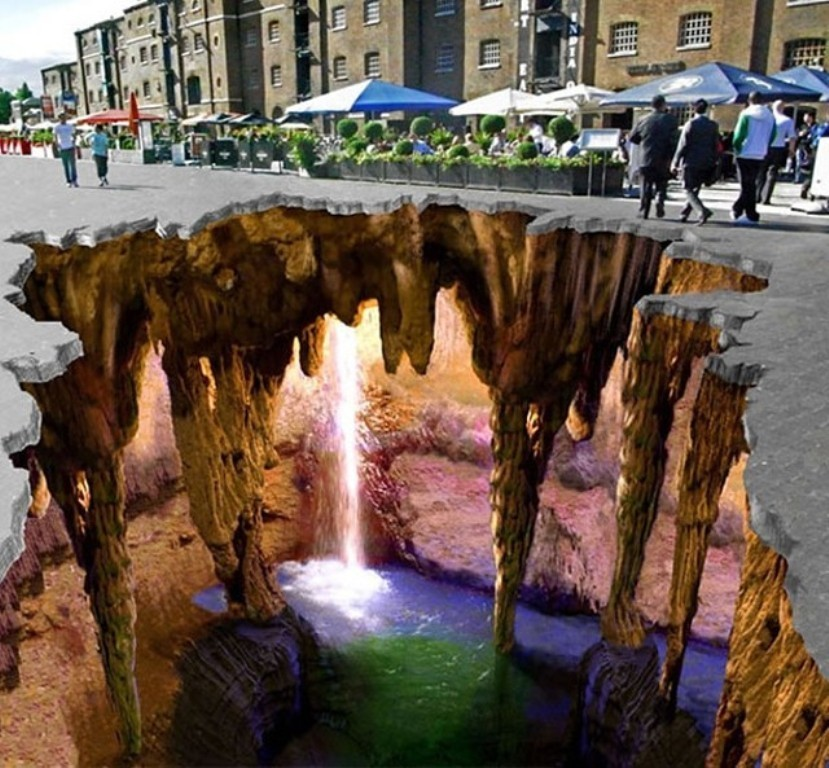 3D-Chalk-Art-Drawings-11 40 Most Fascinating 3D Chalk Art Drawings