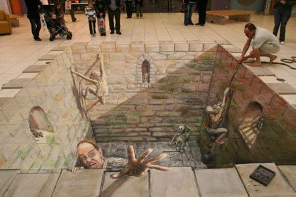 3D-Chalk-Art-Drawings-13 40 Most Fascinating 3D Chalk Art Drawings