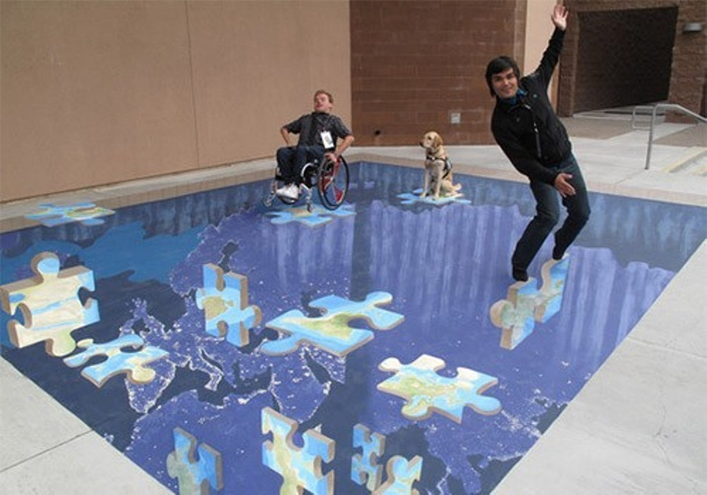 3D-Chalk-Art-Drawings-14 40 Most Fascinating 3D Chalk Art Drawings