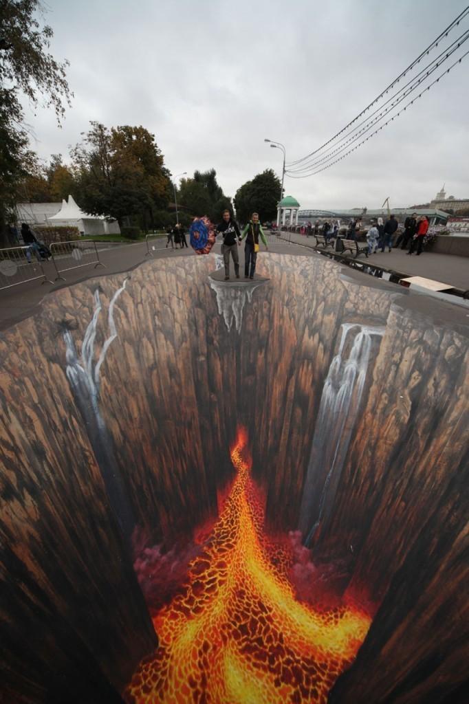3D-Chalk-Art-Drawings-17 40 Most Fascinating 3D Chalk Art Drawings
