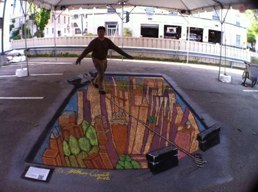 3D-Chalk-Art-Drawings-19 40 Most Fascinating 3D Chalk Art Drawings