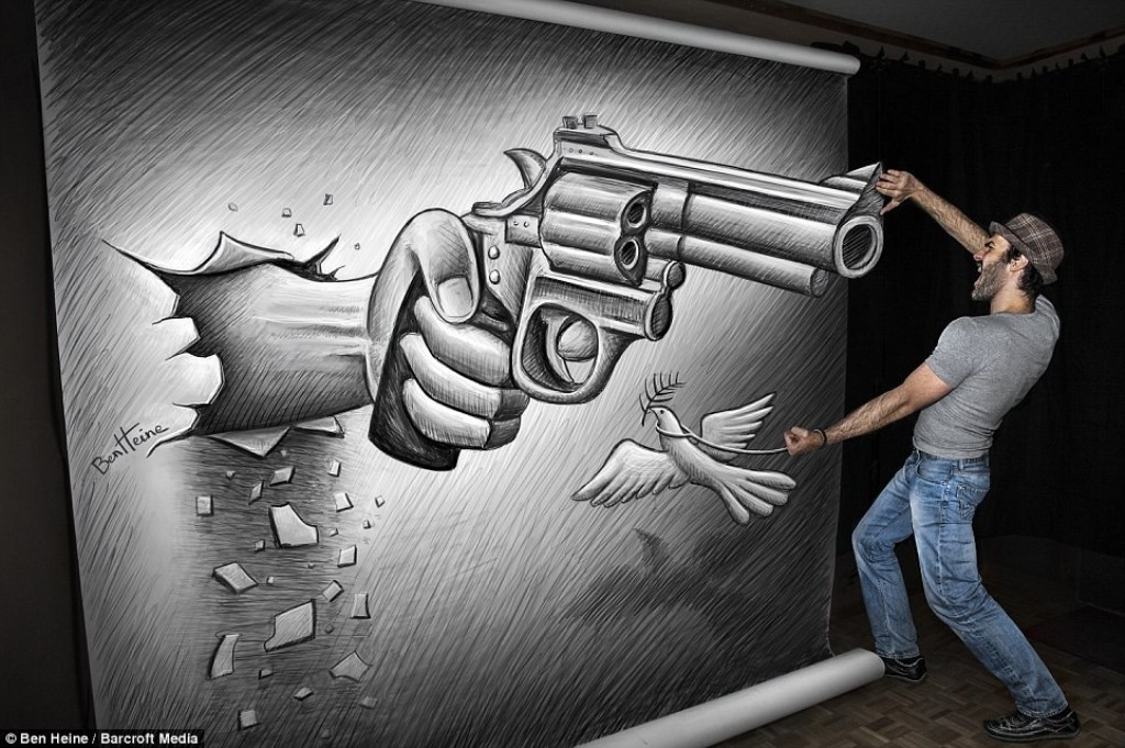 3D-Chalk-Art-Drawings-21 40 Most Fascinating 3D Chalk Art Drawings