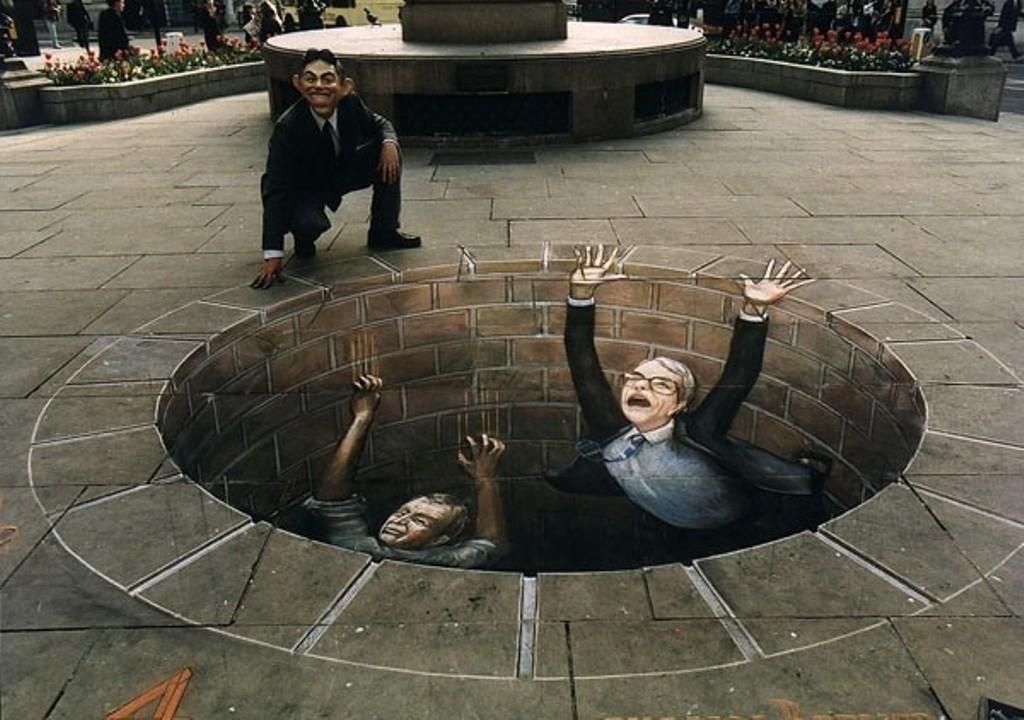 3D-Chalk-Art-Drawings-26 40 Most Fascinating 3D Chalk Art Drawings