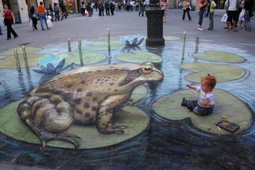 3D-Chalk-Art-Drawings-27 40 Most Fascinating 3D Chalk Art Drawings