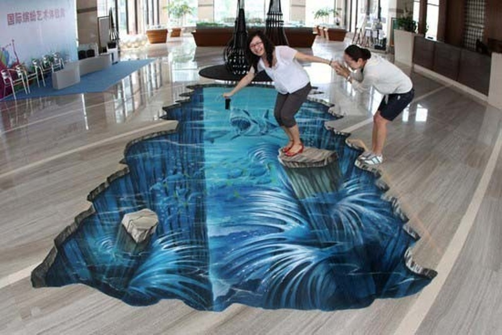 3D-Chalk-Art-Drawings-28 40 Most Fascinating 3D Chalk Art Drawings