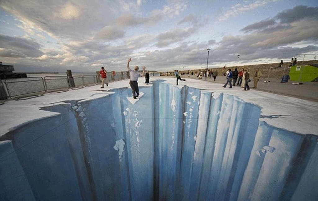 3D-Chalk-Art-Drawings-29 40 Most Fascinating 3D Chalk Art Drawings