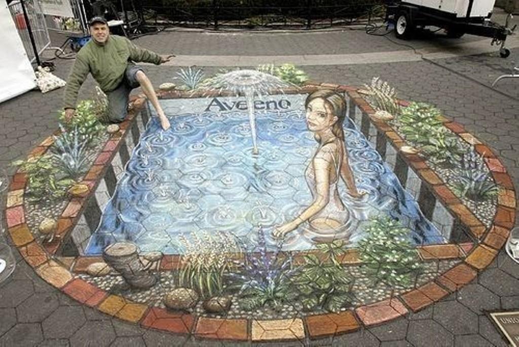3D-Chalk-Art-Drawings-32 40 Most Fascinating 3D Chalk Art Drawings