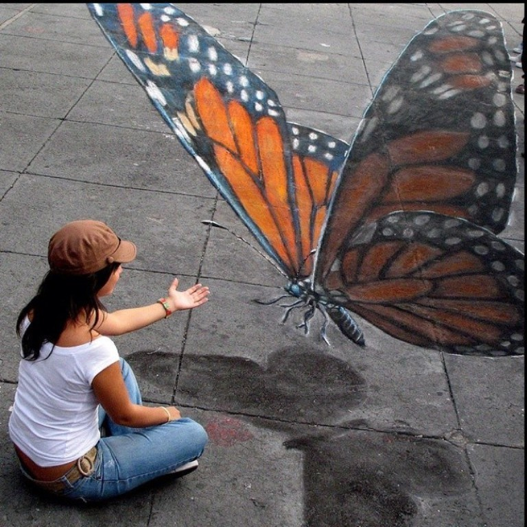 3D-Chalk-Art-Drawings-5 40 Most Fascinating 3D Chalk Art Drawings