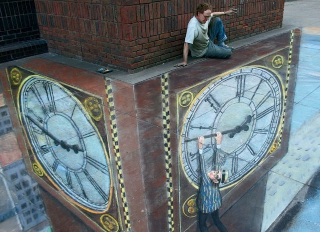 3D-Chalk-Art-Drawings-9 40 Most Fascinating 3D Chalk Art Drawings