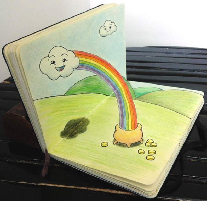 3D-Design-Sketchbooks-31 40 Most Inspiring 3D Design Sketchbooks