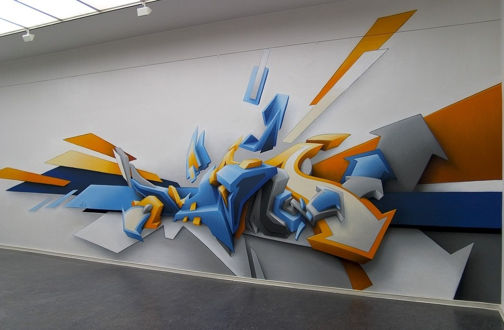 3D-Graffiti-Art-1 45 Most Awesome Works of 3D Graffiti Art