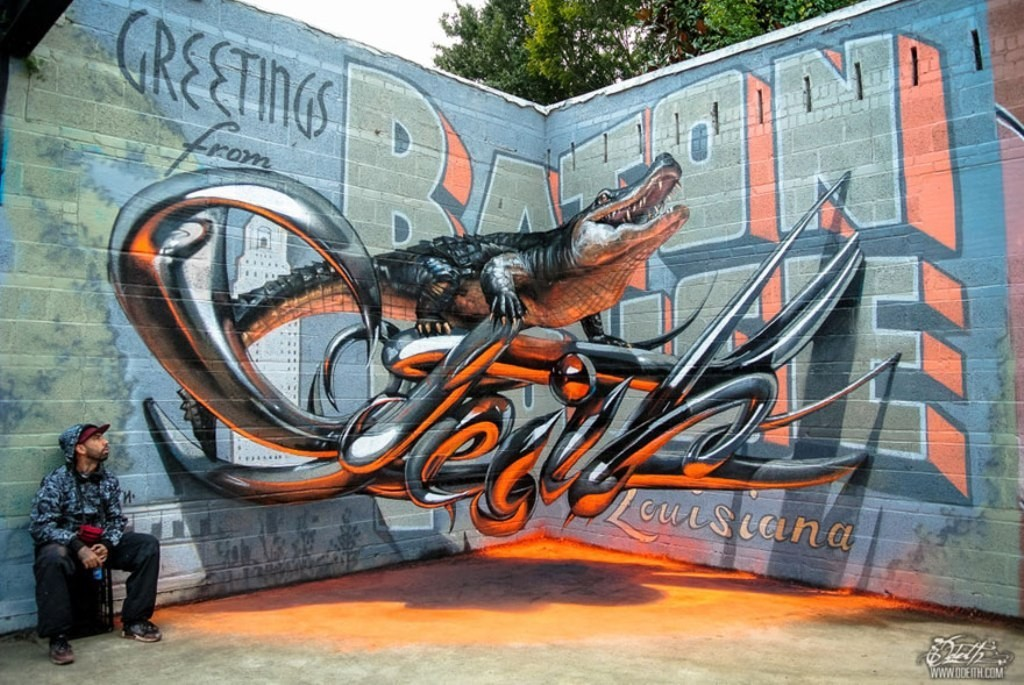 3D-Graffiti-Art-10 45 Most Awesome Works of 3D Graffiti Art