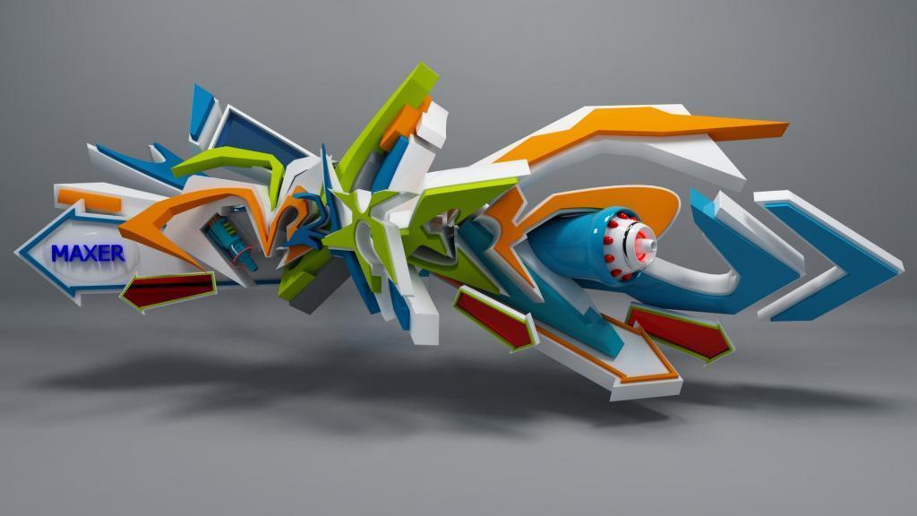3D-Graffiti-Art-12 45 Most Awesome Works of 3D Graffiti Art