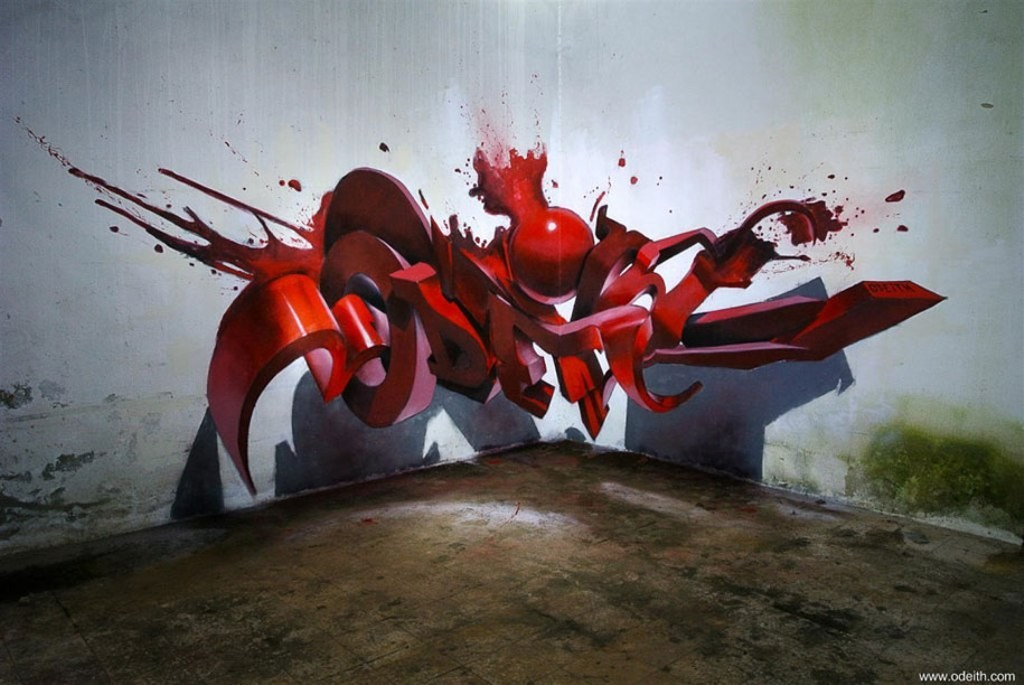 3D-Graffiti-Art-13 45 Most Awesome Works of 3D Graffiti Art