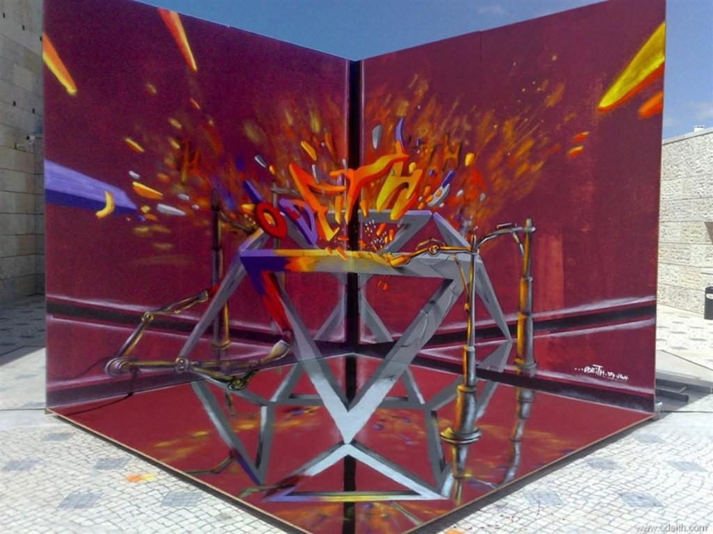 3D-Graffiti-Art-21 45 Most Awesome Works of 3D Graffiti Art