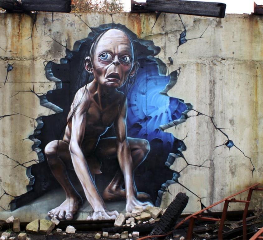 3D-Graffiti-Art-24 45 Most Awesome Works of 3D Graffiti Art