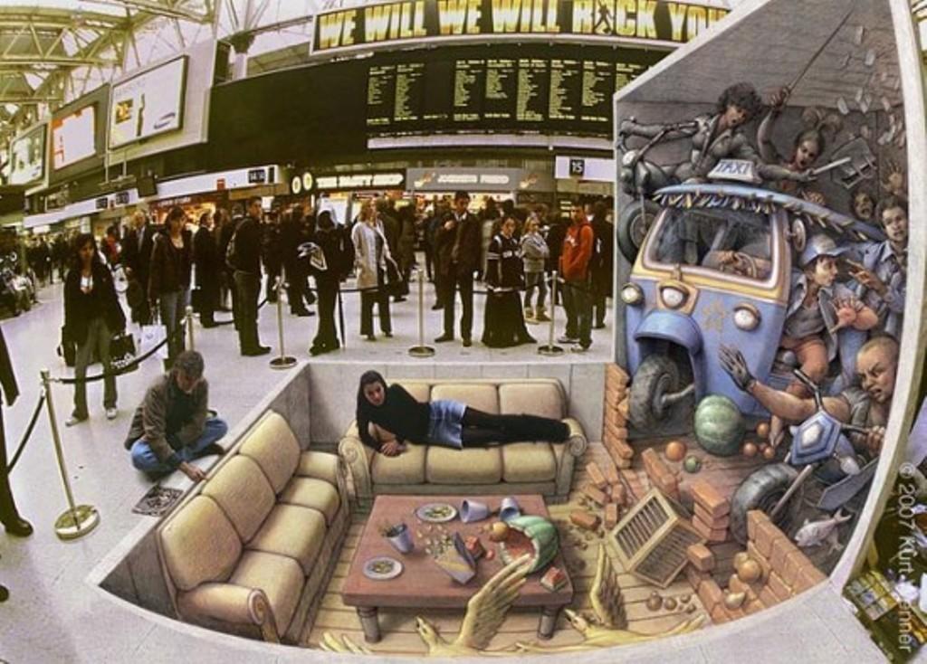 3D-Graffiti-Art-34 45 Most Awesome Works of 3D Graffiti Art