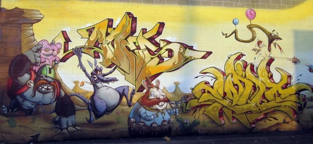 3D-Graffiti-Art-42 45 Most Awesome Works of 3D Graffiti Art