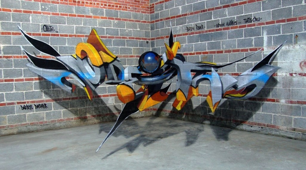 3D-Graffiti-Art-6 45 Most Awesome Works of 3D Graffiti Art