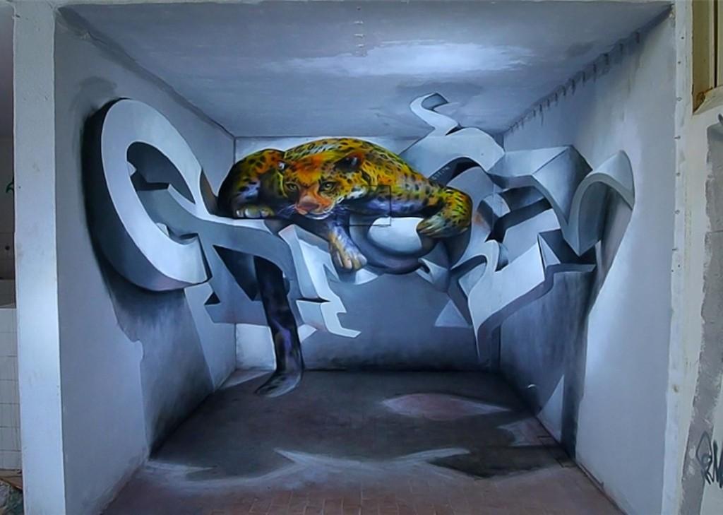 3D-Graffiti-Art-9 45 Most Awesome Works of 3D Graffiti Art
