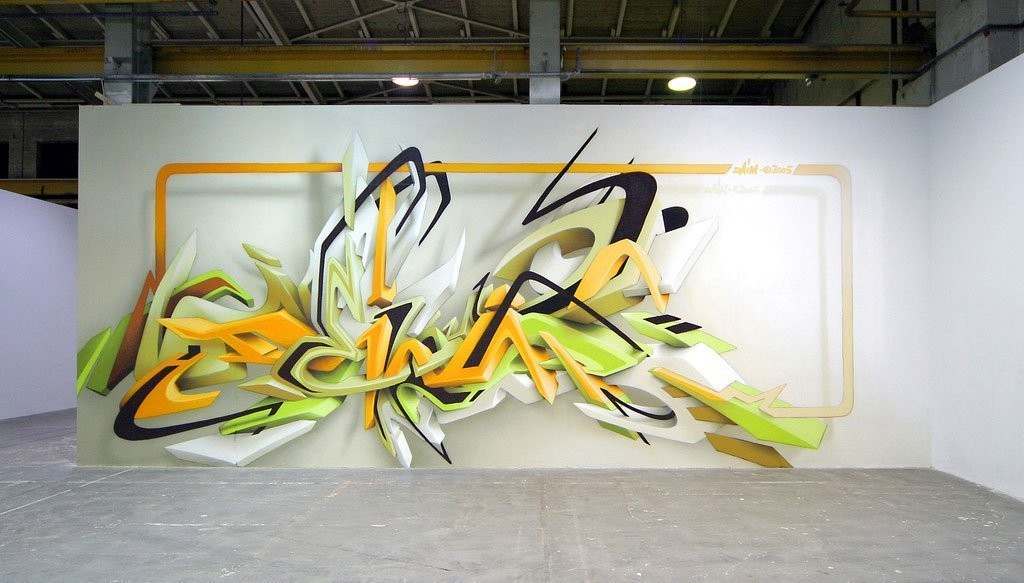 3D-Graffiti-Art 45 Most Awesome Works of 3D Graffiti Art