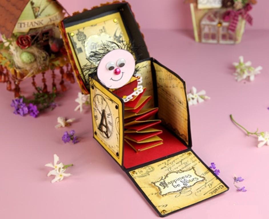3D-Handmade-Box-Cards-15 45 Most Breathtaking 3D Handmade Box Cards