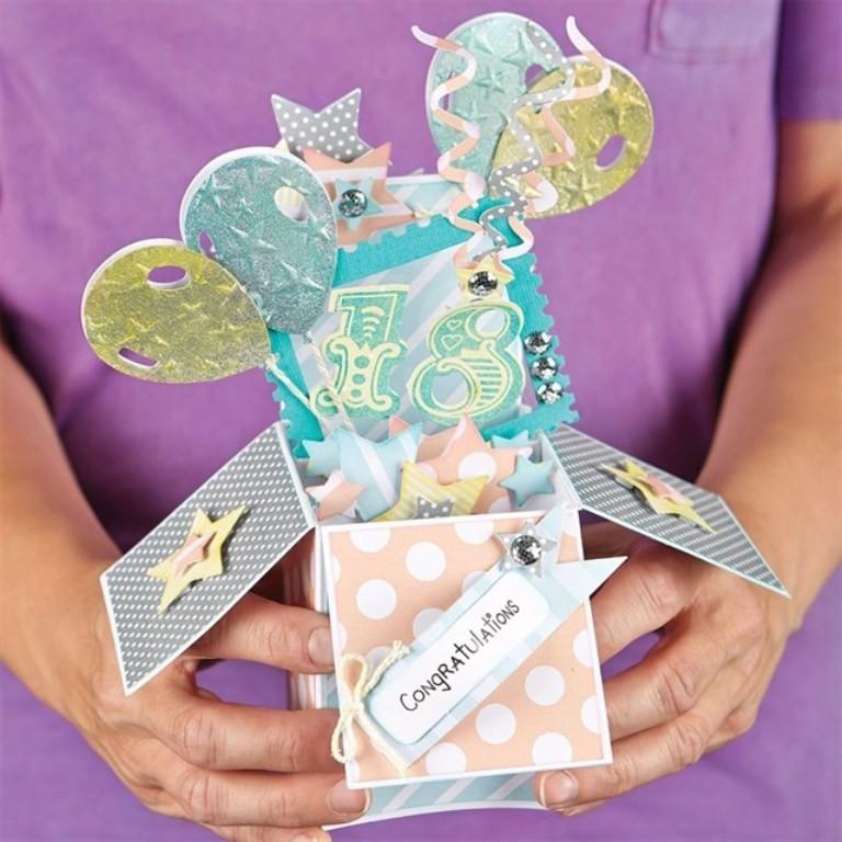 3D-Handmade-Box-Cards-25 45 Most Breathtaking 3D Handmade Box Cards