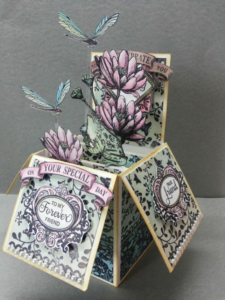 3D-Handmade-Box-Cards-27 45 Most Breathtaking 3D Handmade Box Cards