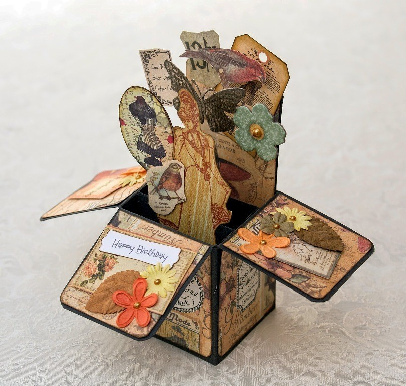 3D-Handmade-Box-Cards-28 45 Most Breathtaking 3D Handmade Box Cards