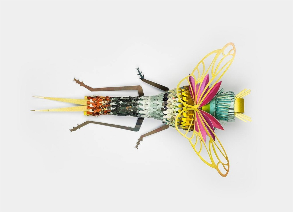 3D-Insects-and-Snails-14 49 Most Incredible 3D Insects and Snails