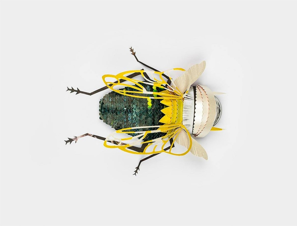 3D-Insects-and-Snails-15 49 Most Incredible 3D Insects and Snails