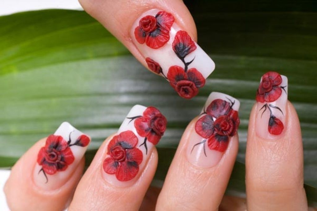 3D-Nail-Art-Designs-1 70 Hottest & Most Amazing 3D Nail Art Designs