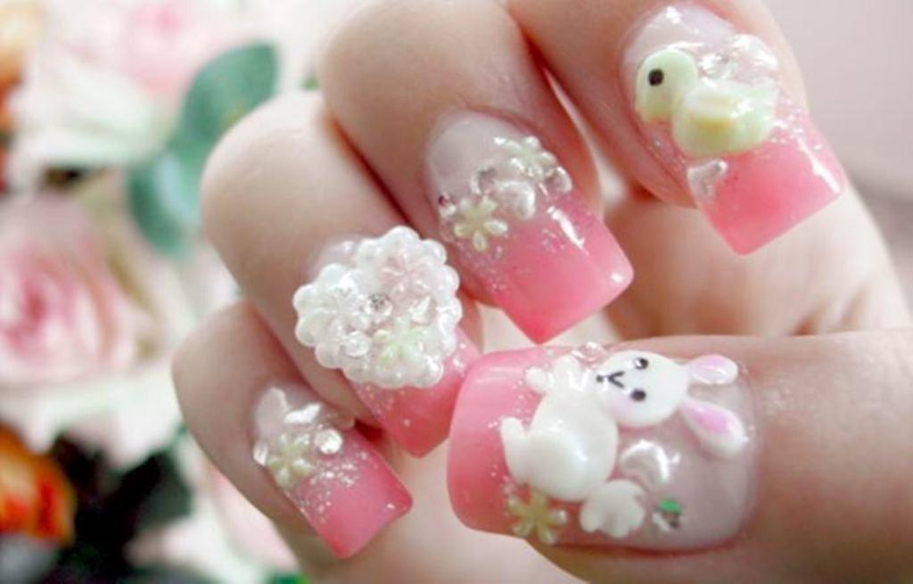 3D-Nail-Art-Designs-11 70 Hottest & Most Amazing 3D Nail Art Designs