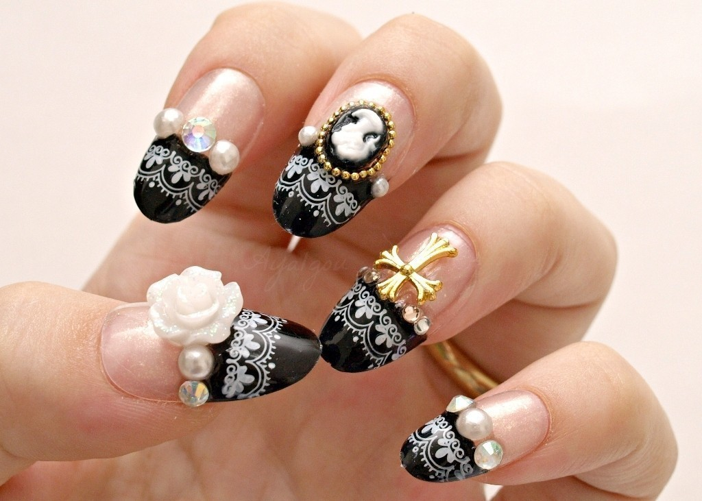 3D-Nail-Art-Designs-14 70 Hottest & Most Amazing 3D Nail Art Designs