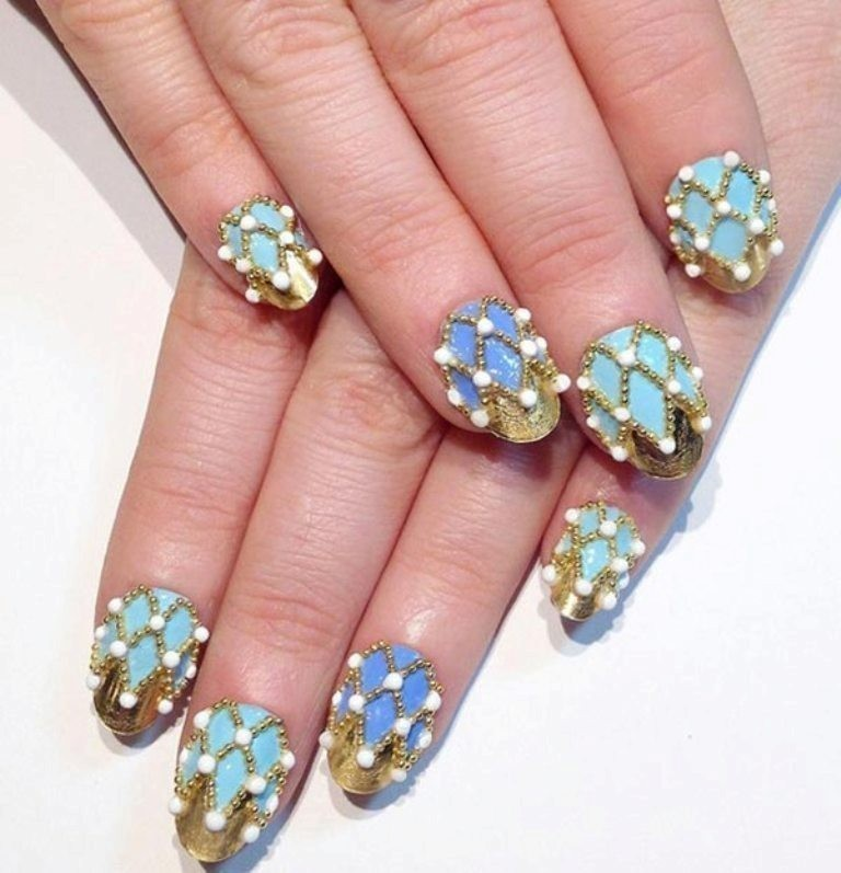 70 Hottest & Most Amazing 3D Nail Art Designs