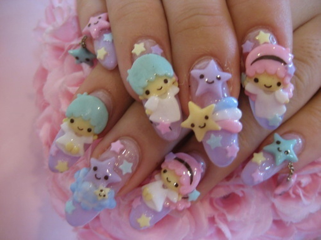 3D-Nail-Art-Designs-17 70 Hottest & Most Amazing 3D Nail Art Designs