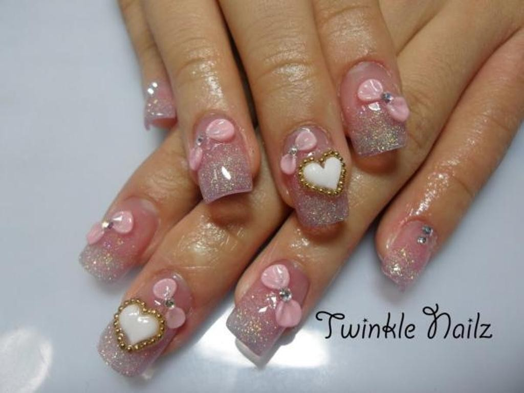 3D-Nail-Art-Designs-18 70 Hottest & Most Amazing 3D Nail Art Designs