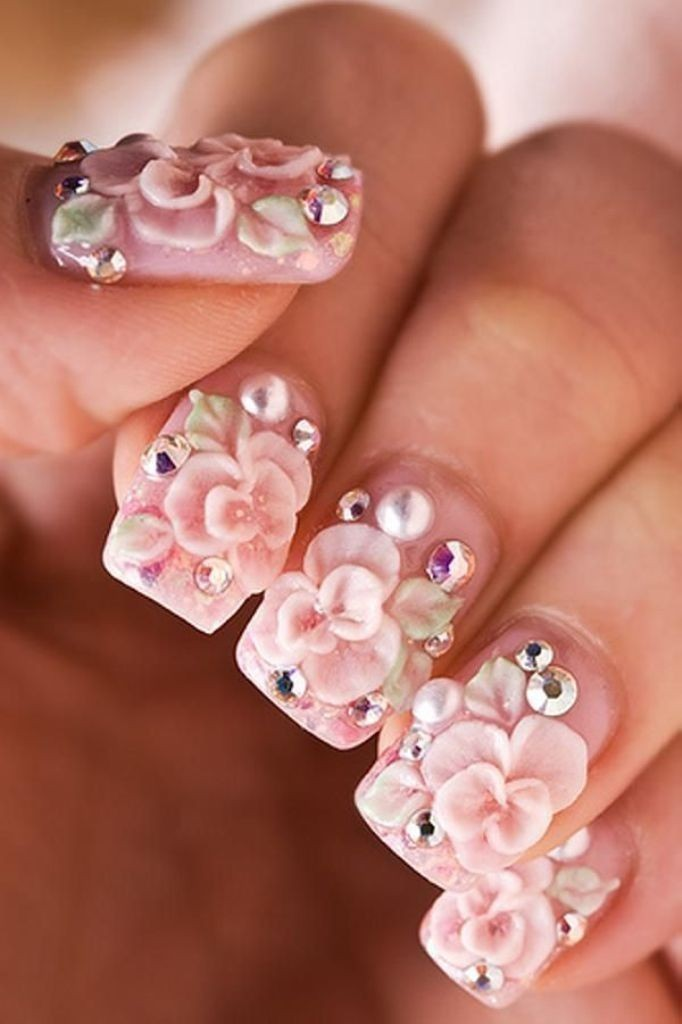 3D-Nail-Art-Designs-2 70 Hottest & Most Amazing 3D Nail Art Designs