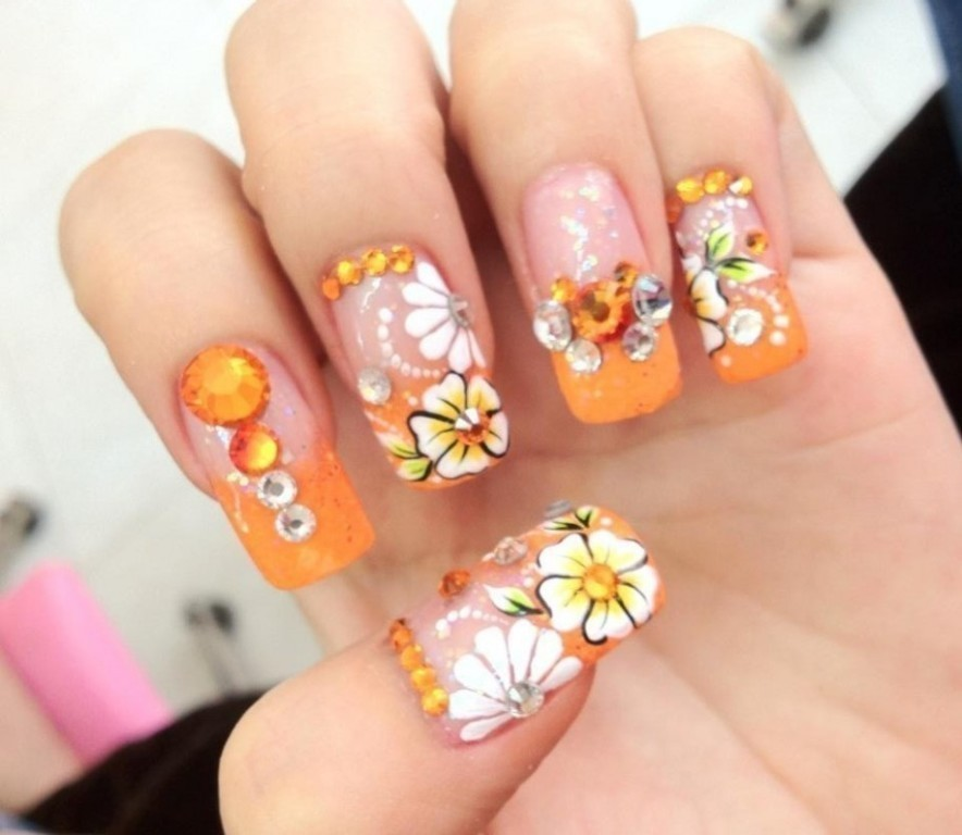 3D-Nail-Art-Designs-21 70 Hottest & Most Amazing 3D Nail Art Designs