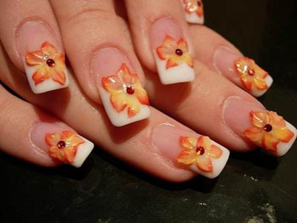 3D-Nail-Art-Designs-24 70 Hottest & Most Amazing 3D Nail Art Designs