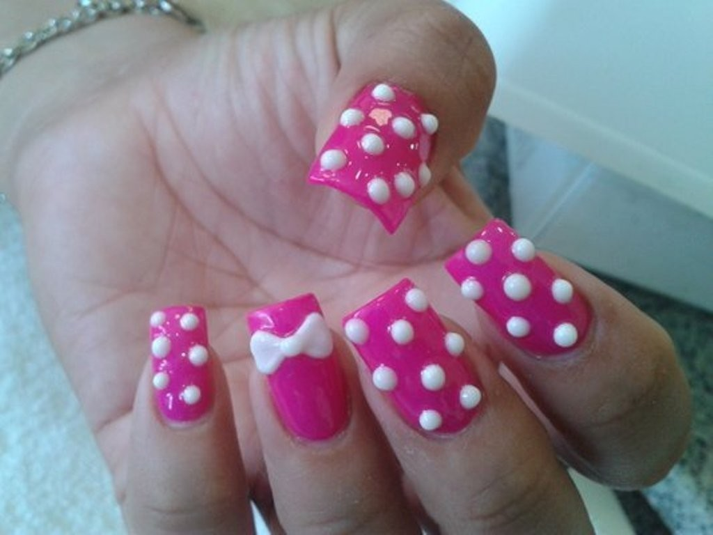 3D-Nail-Art-Designs-25 70 Hottest & Most Amazing 3D Nail Art Designs