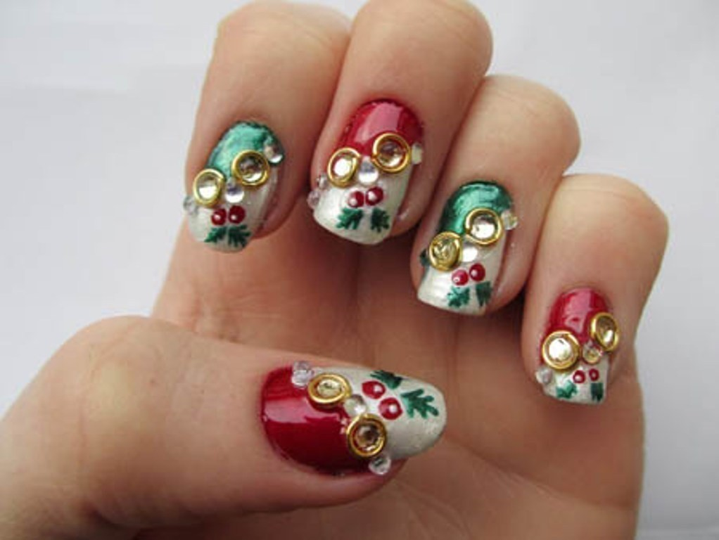3D-Nail-Art-Designs-29 70 Hottest & Most Amazing 3D Nail Art Designs