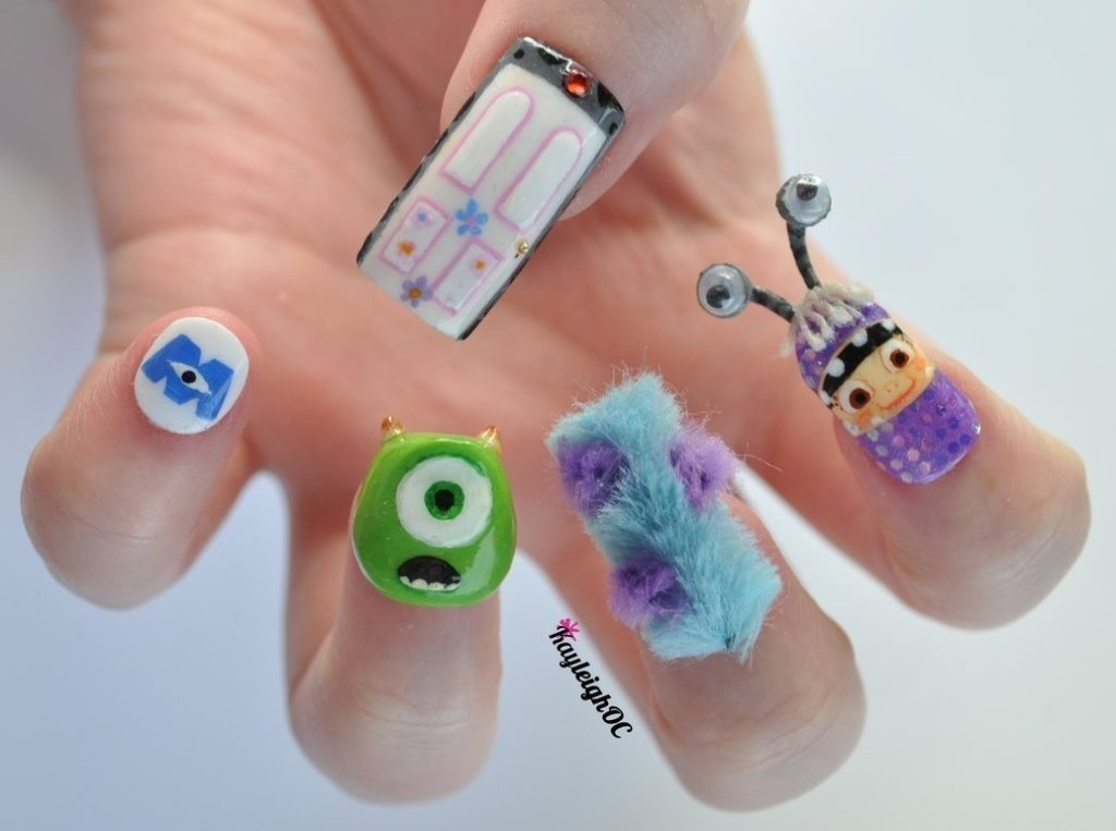 3D-Nail-Art-Designs-3 70 Hottest & Most Amazing 3D Nail Art Designs