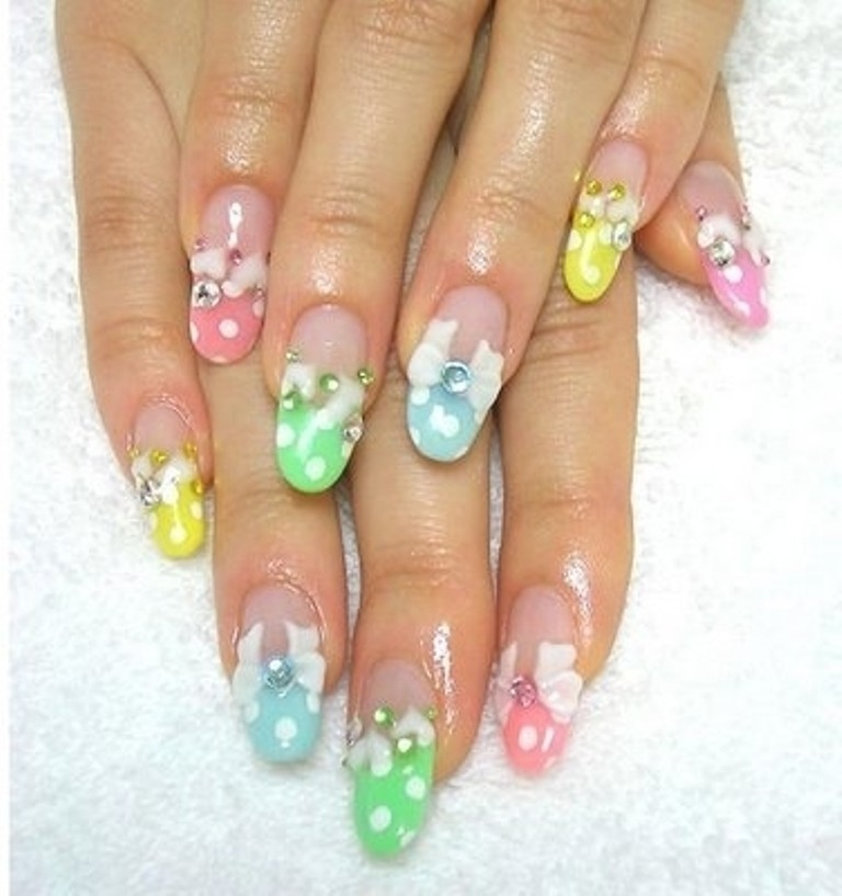 3D-Nail-Art-Designs-33 70 Hottest & Most Amazing 3D Nail Art Designs
