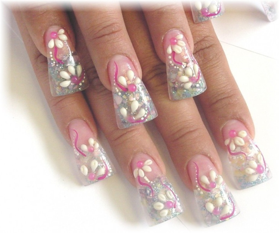 3D-Nail-Art-Designs-34 70 Hottest & Most Amazing 3D Nail Art Designs