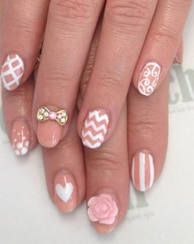 3D-Nail-Art-Designs-36 70 Hottest & Most Amazing 3D Nail Art Designs